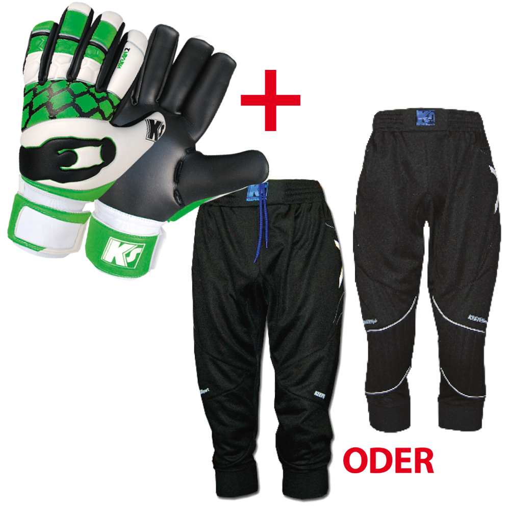 KEEPERsport 3/4 Hose + Glove Set