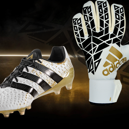 ADIDAS STELLAR PACK-SET: GLOVES+SHOES