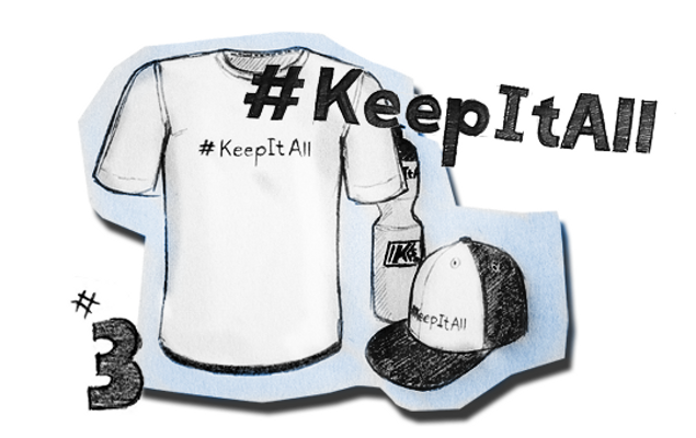 3.Platz: What is #KEEPITALL for you?