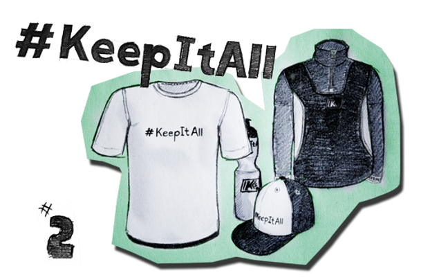 2. Platz: What is #KEEPITALL for you?