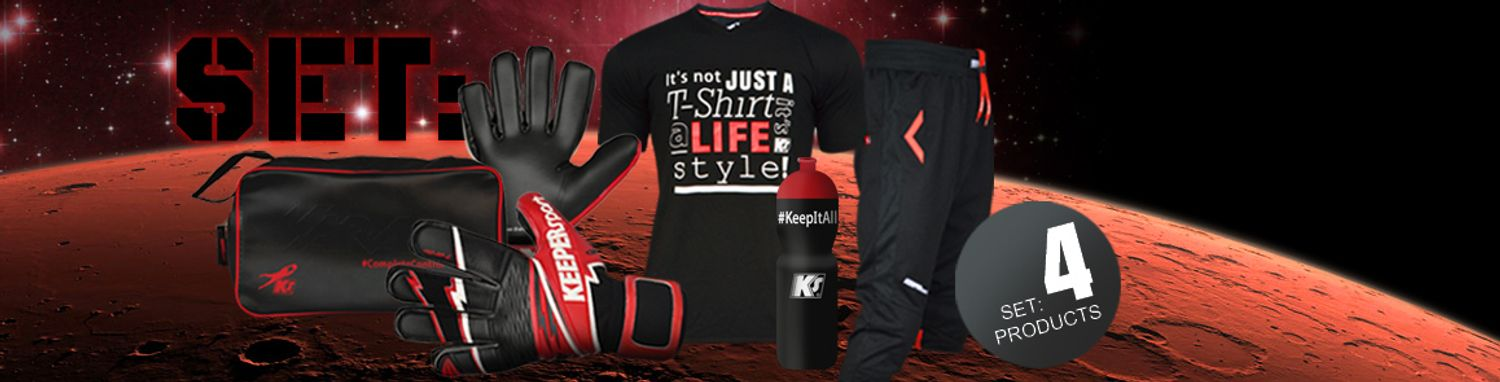 Keepersport Festive Pack 2015, exclusive Products in a set