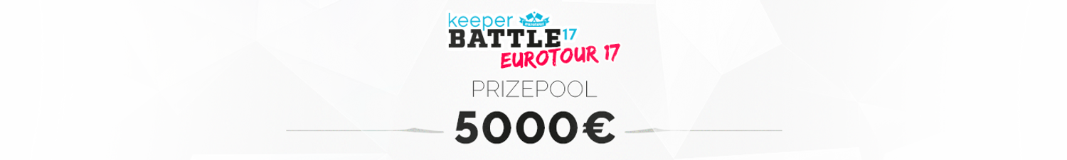 keeperBATTLE prizepool