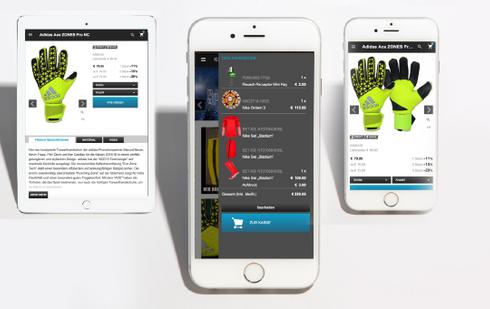 Nu ook zeer eenvoudig via uw smartphone bij KEEPERsport bestellen!