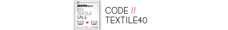 "Code ""TEXTILE40"""