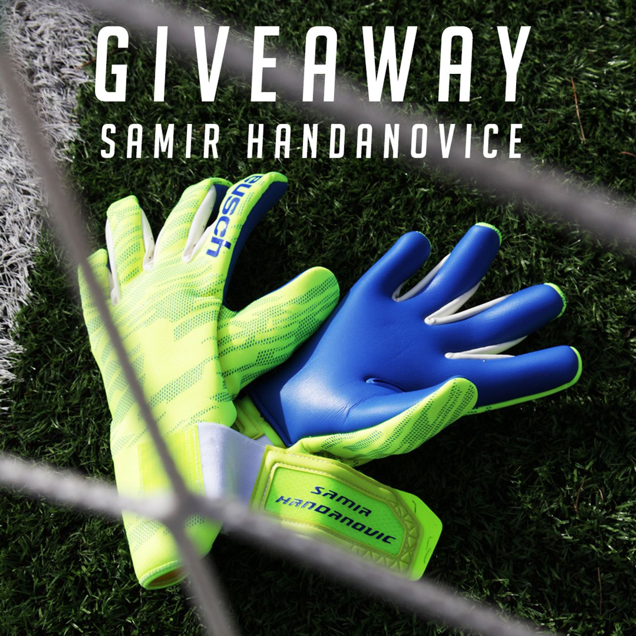 Samir Handanovic GIVEAWAY