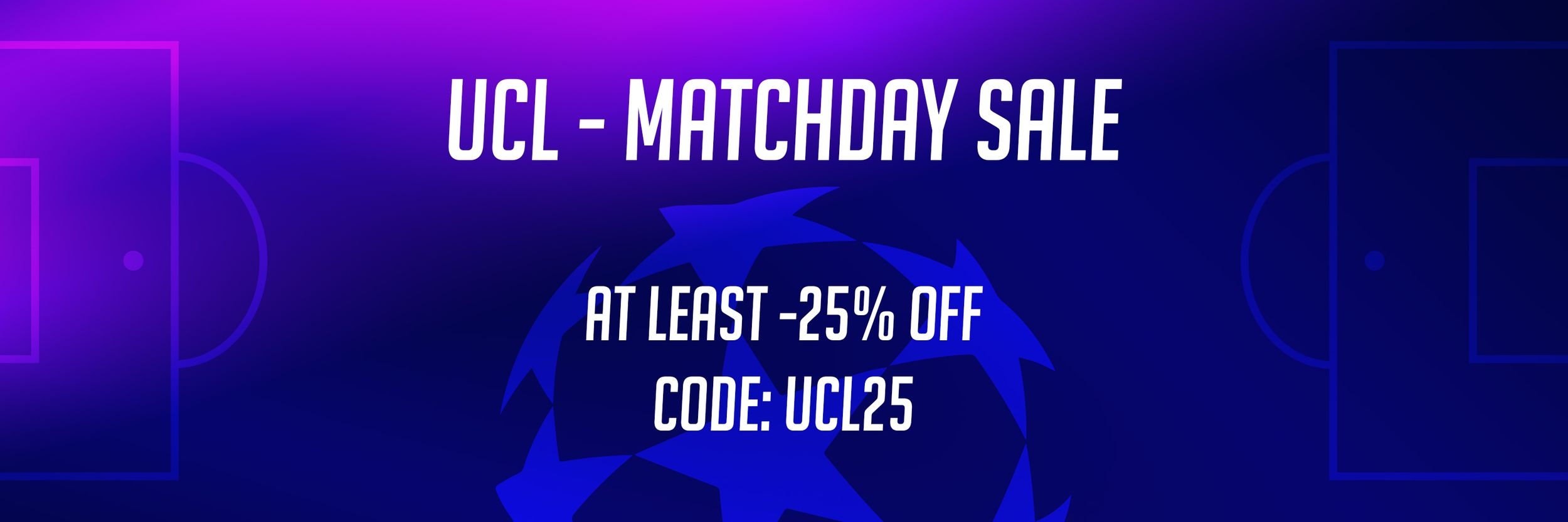 Champions League Matchday Sale bei KEEPERsport
