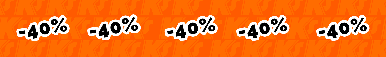 megasale -40% pour les gardiens de but