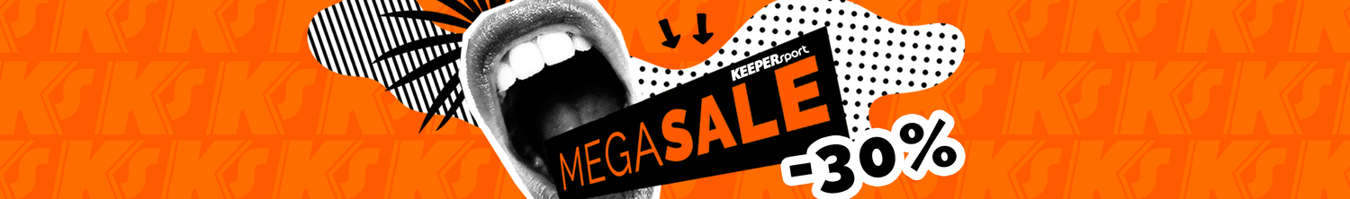 MEGA40 Code Megasale KEEPERsport