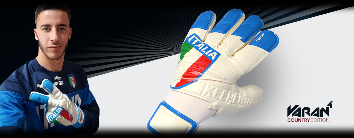 KEEPERsport VARAN4 CountryEdition Italia - played by Montipò