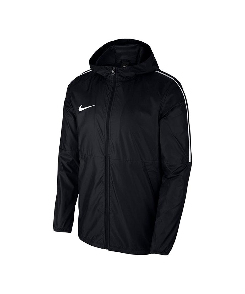 Nike Park 18 Rain Jacket Schwarz