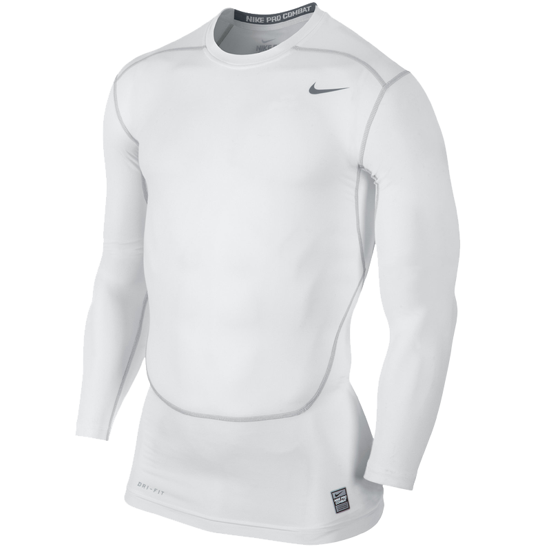 Nike Core Compression L/S (white)