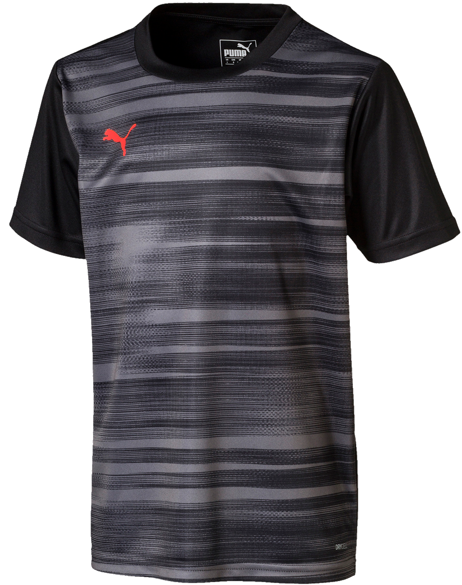 PUMA ftblNXT Graphic Shirt Core Schwarz
