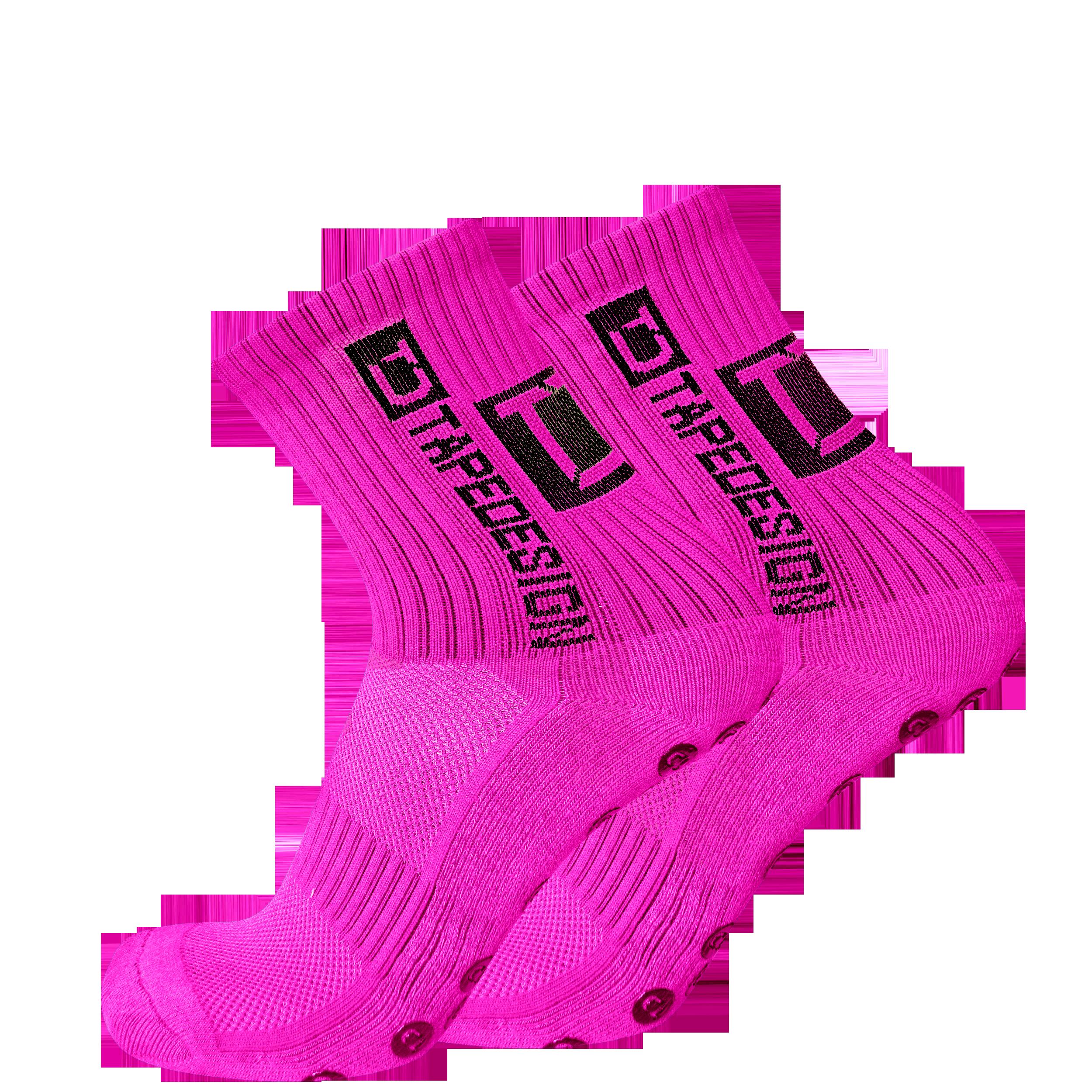 Tapedesign Socks Socken Neonpink F011