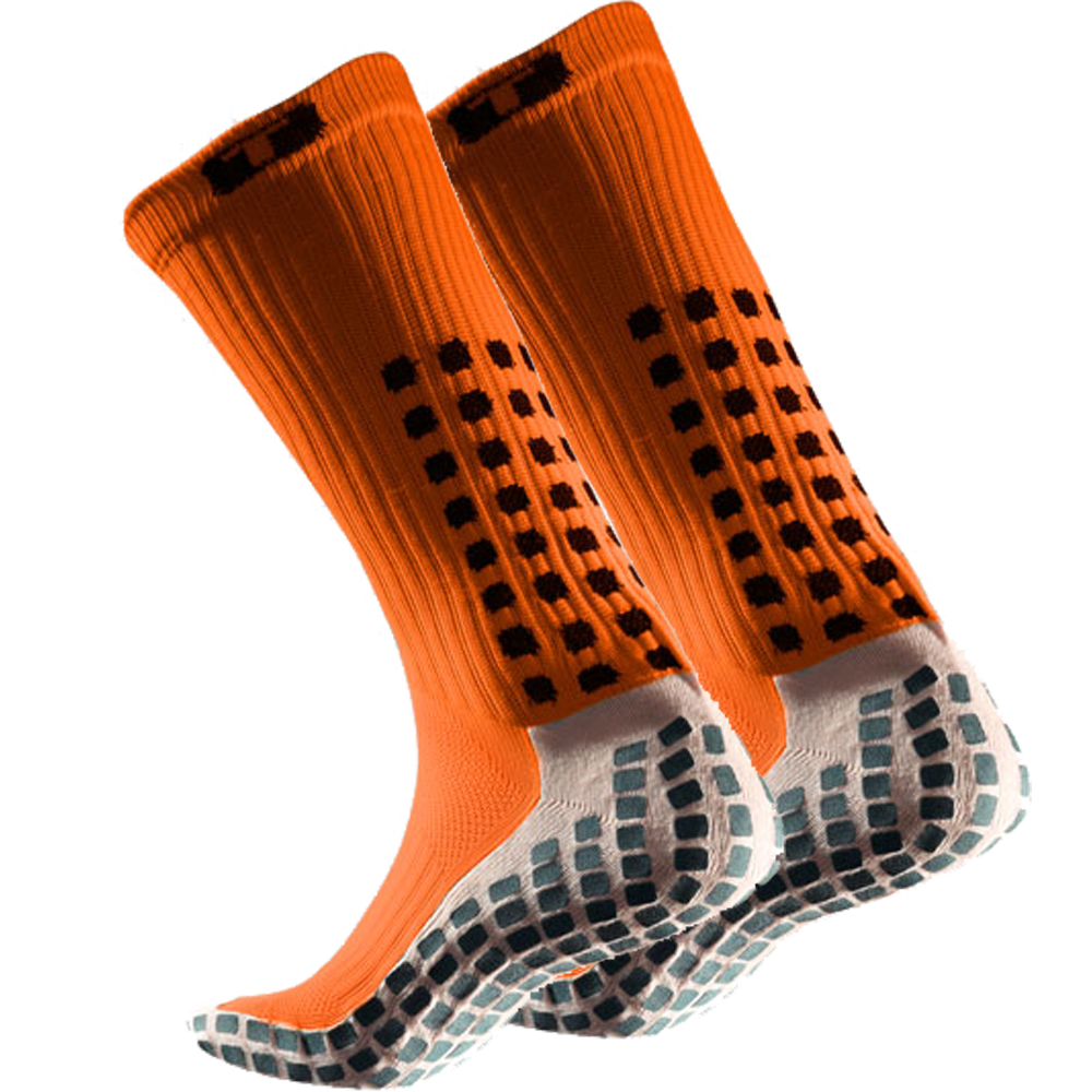 TruSox Mid-Calf Thin (orange)